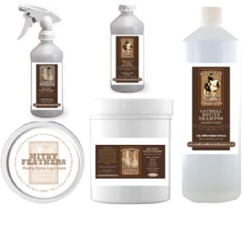 Mitey Feathers Cream, Oil & Shampoo Bundle